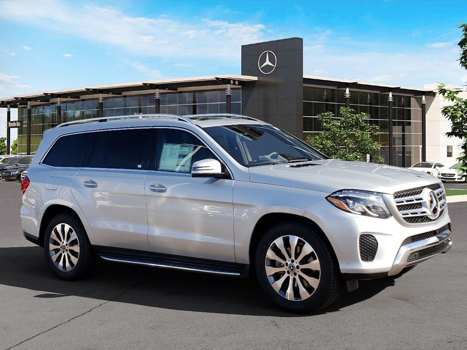 New Mercedes Suv >> New 2019 Mercedes Benz Gls 450 4matic