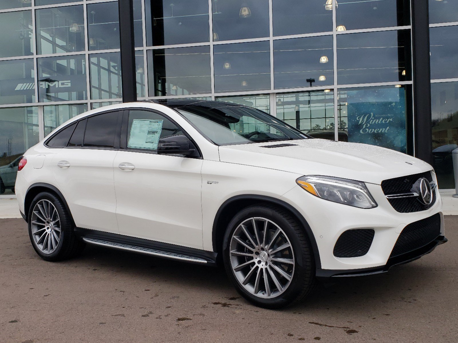 New 2019 Mercedes Benz Gle Amg Gle 43 Coupe Coupe In Ridgeland