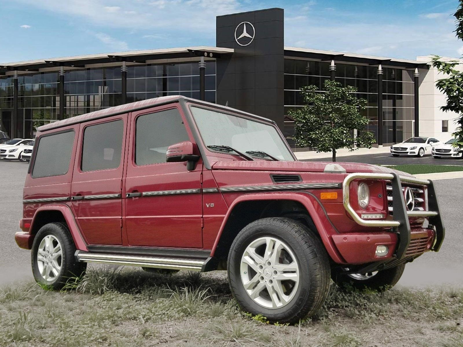 Certified Pre-Owned 2015 Mercedes-Benz G 550 4MATIC®