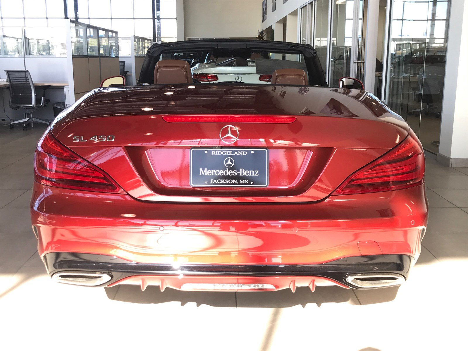 New 2018 mercedes benz sl sl 450 roadster in ridgeland for Jackson mercedes benz macon ga