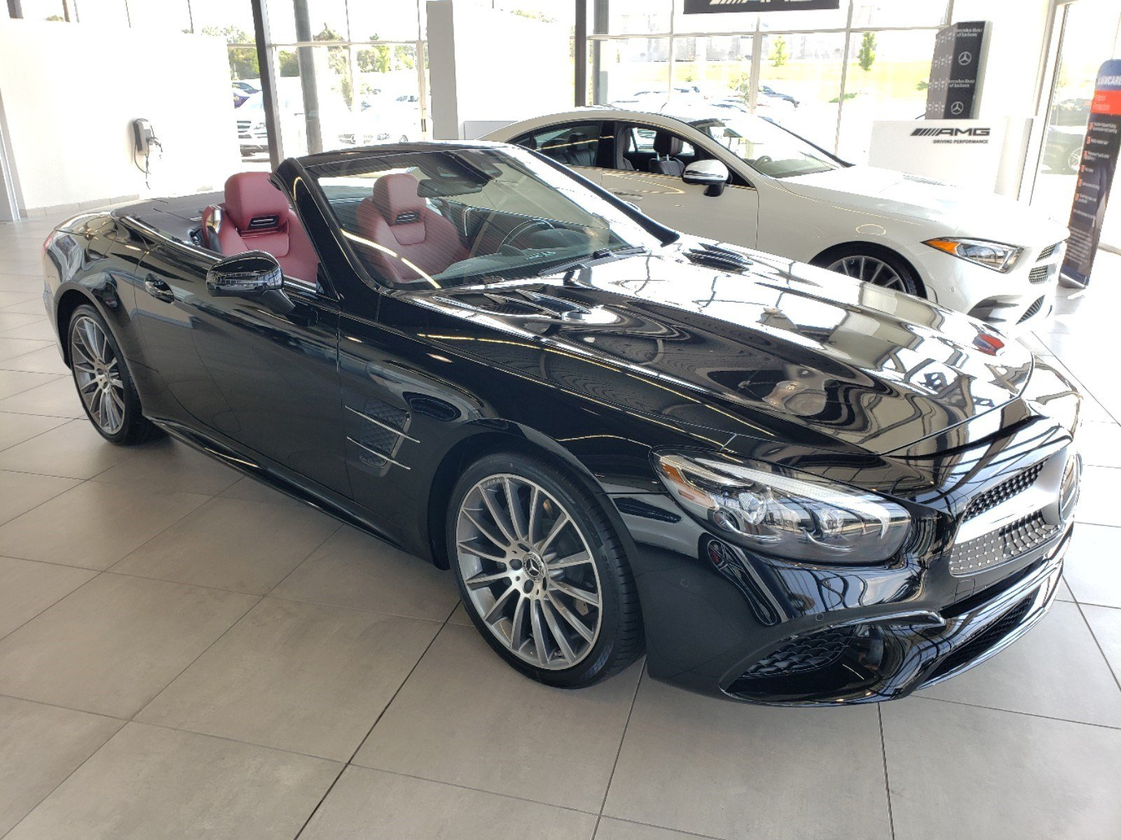 Pre-Owned 2019 Mercedes-Benz SL SL 550