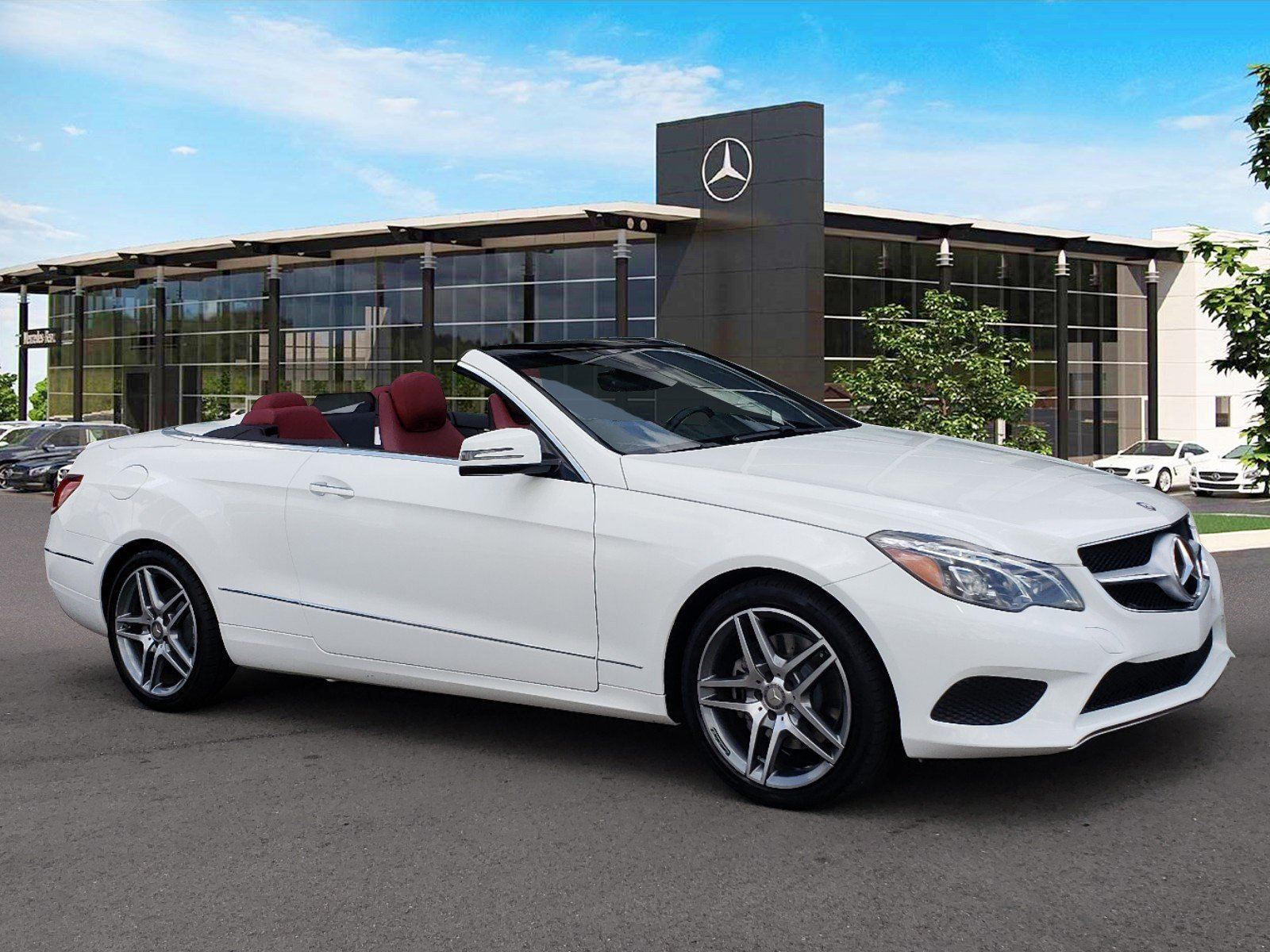 Certified Pre Owned 2015 Mercedes Benz E Class E 400 Sport CABRIOLET
