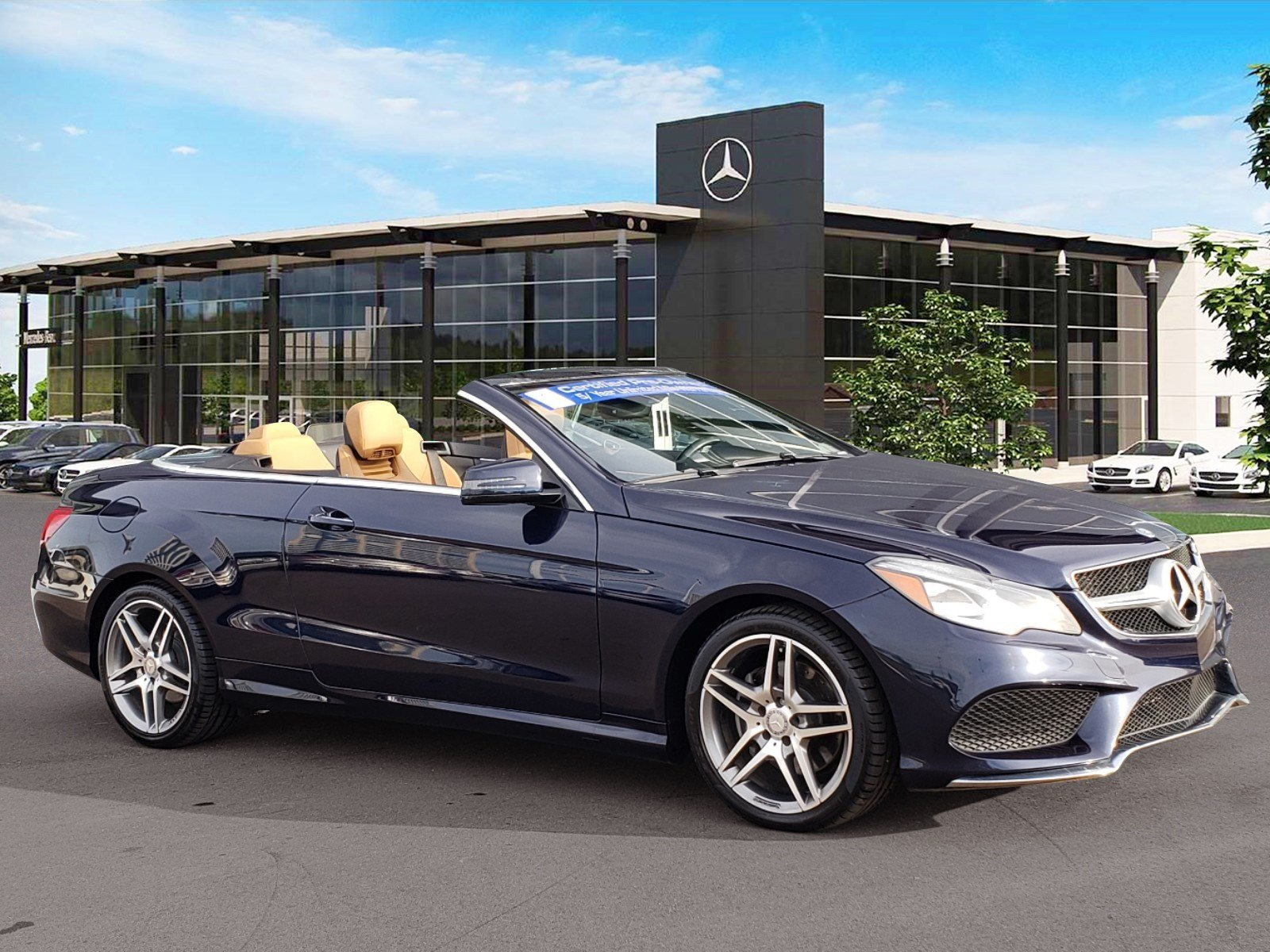 Certified Pre Owned 2016 Mercedes Benz E Class E 400 CABRIOLET in