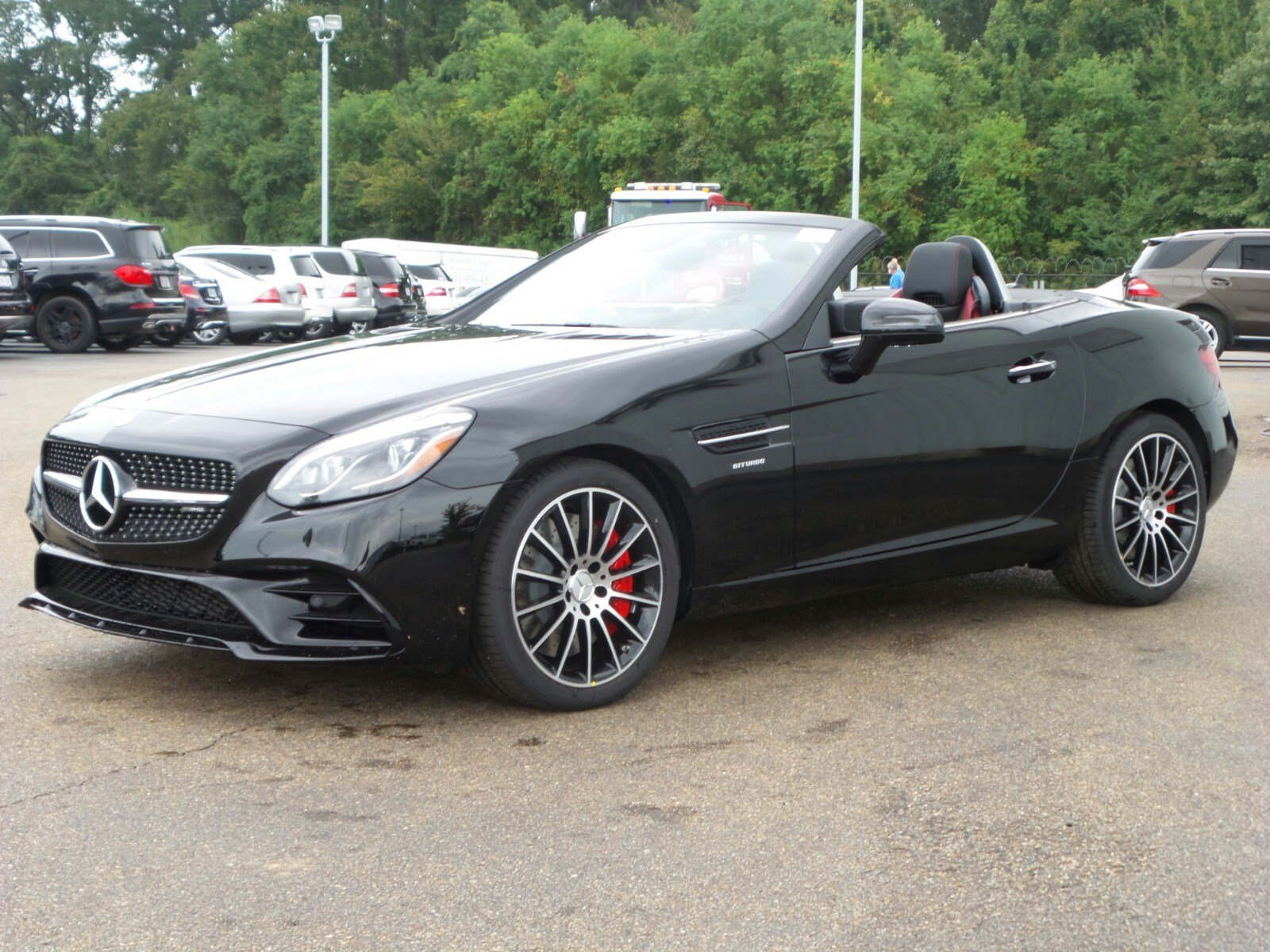New 2018 mercedes benz slc slc 43 amg 2d convertible in for Jackson mercedes benz macon ga