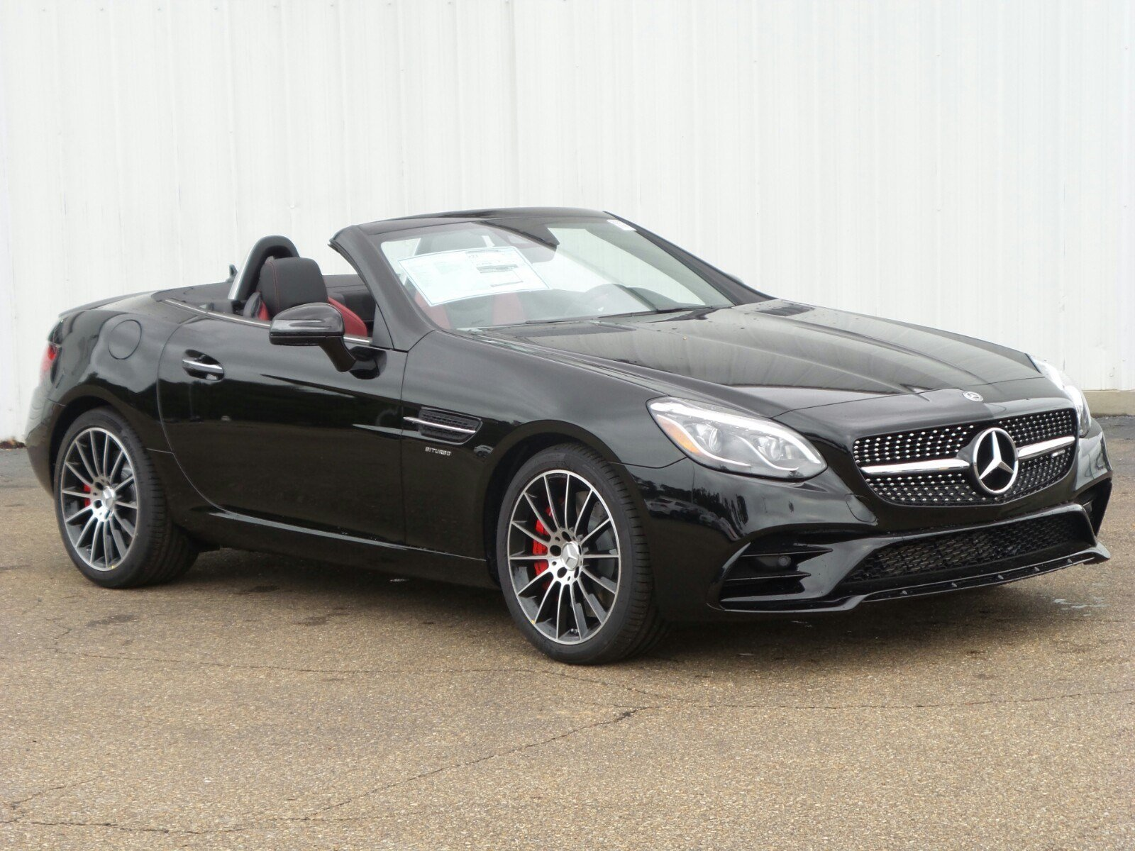 New 2018 mercedes benz slc amg slc 43 roadster roadster for Jackson mercedes benz macon ga